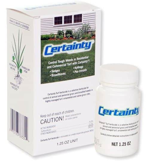 Certainty Herbicide for Turf Nutgrass Control